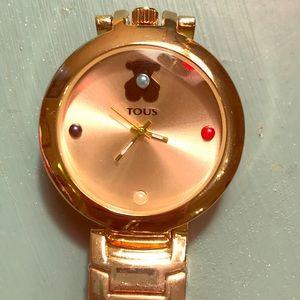 Tous Gold Watch